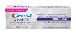 bieliaca zubná pasta Brilliance